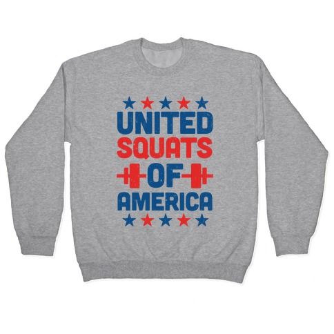 United Squats of America Pullover