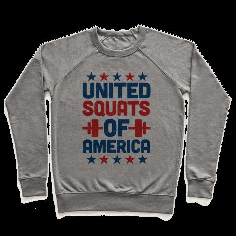 United Squats of America Pullover