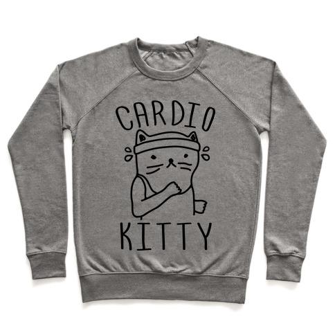 Cardio Kitty Pullover