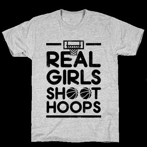 Real Girls Shoot Hoops (Vintage)
