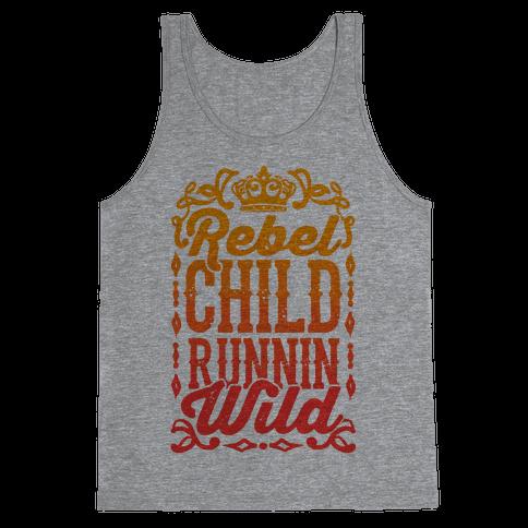 Rebel Child Runnin' Wild Tank Top