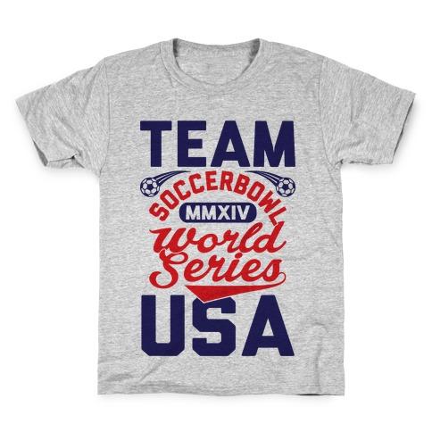 Soccerbowl World Series Kids T-Shirt