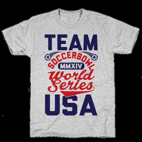 Soccerbowl World Series Mens T-Shirt