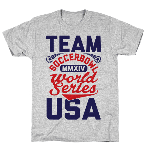 Soccerbowl World Series Mens T-Shirt