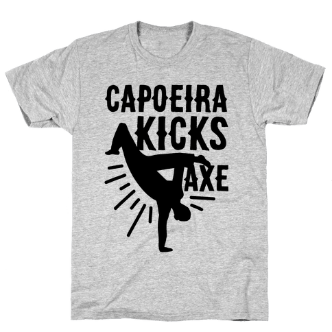Capoeira Kicks Axe Mens T-Shirt