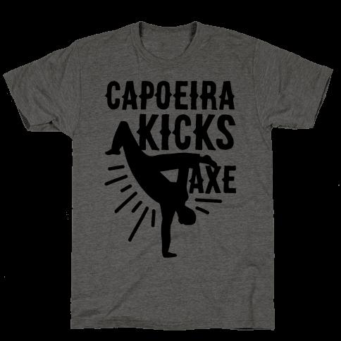 Capoeira Kicks Axe
