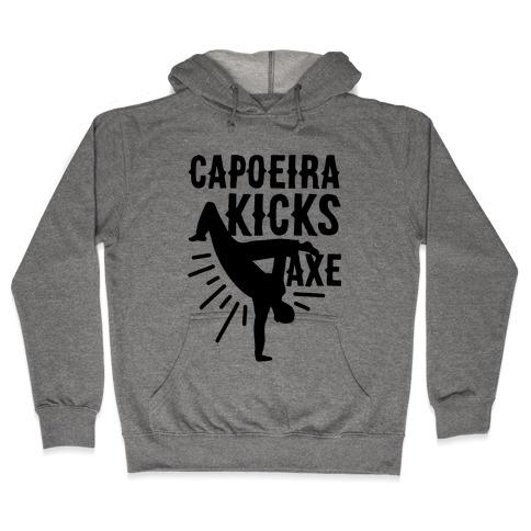 Capoeira Kicks Axe Hooded Sweatshirt