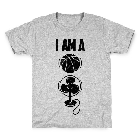 Basketball Fan Kids T-Shirt