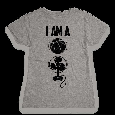 Basketball Fan Womens T-Shirt