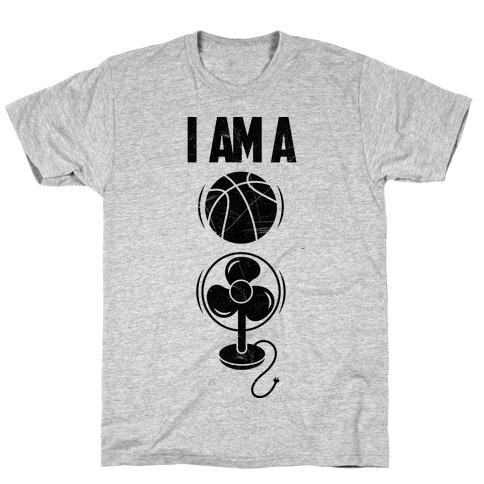 Basketball Fan Mens/Unisex T-Shirt