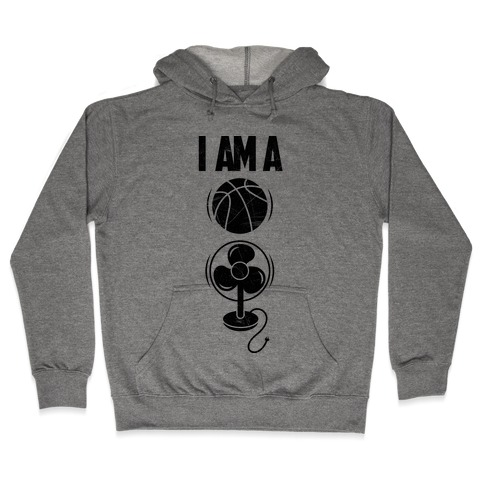 Basketball Fan Hooded Sweatshirt