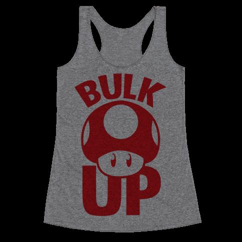 Bulk Up Racerback Tank Top