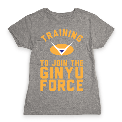 Training To Join The Ginyu Force Womens T-Shirt