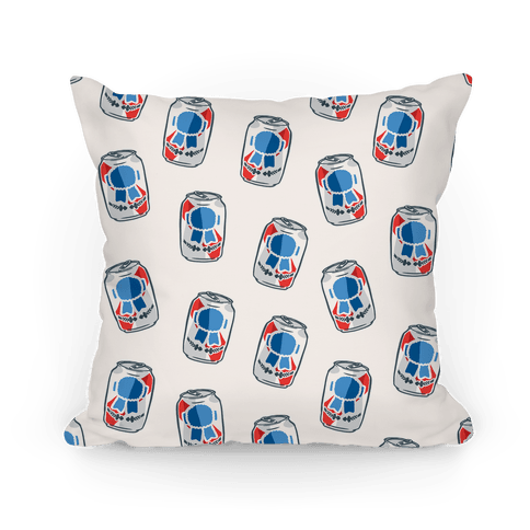 Beer Pattern Pillow