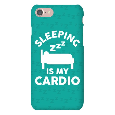 Sleeping Is My Cardio Phone Case