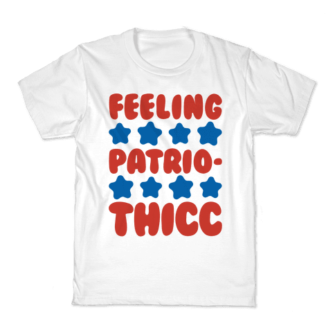 Feeling Patriothicc Parody Kids T-Shirt
