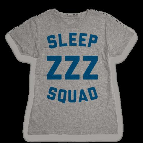 Sleep ZZZ Squad Womens T-Shirt