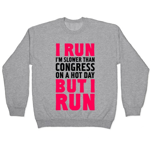 I Run Slower Than Congress On A Hot Day Pullover