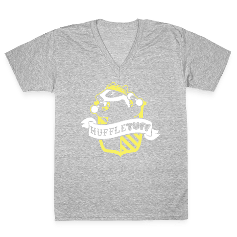 HuffleTUFF V-Neck Tee Shirt