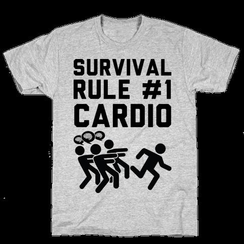Rule One Cardio Mens T-Shirt