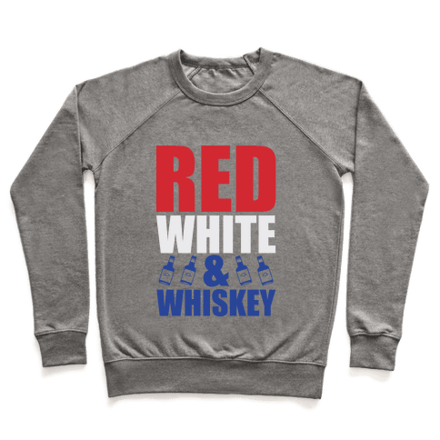 Red, White, and Whiskey Pullover