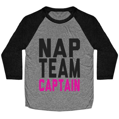 Nap Team Captain Baseball Tee