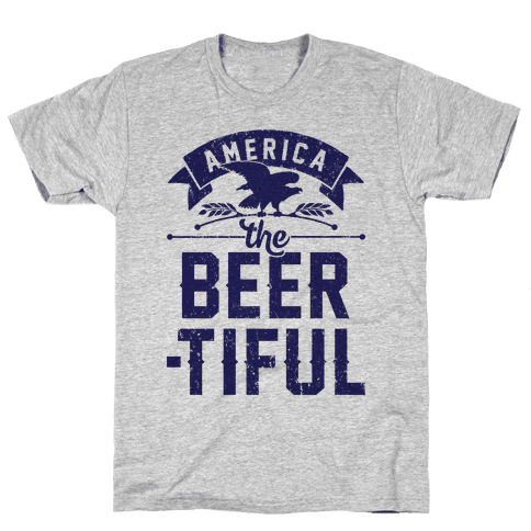 America The Beer-tiful Mens T-Shirt