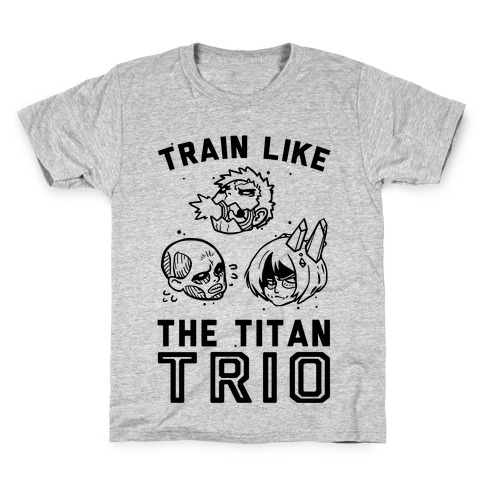 Train Like The Titan Trio Kids T-Shirt