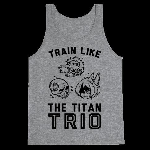 Train Like The Titan Trio Tank Top