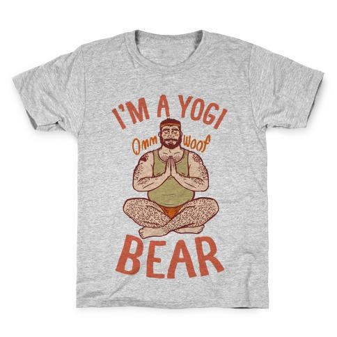 I'm A Yogi Bear Kids T-Shirt