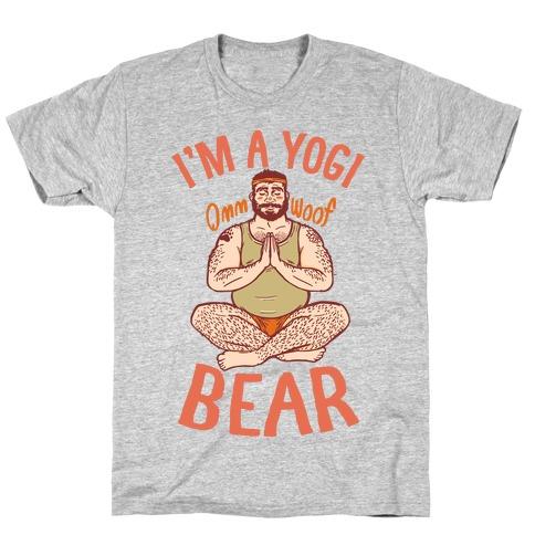 I'm A Yogi Bear T-Shirt