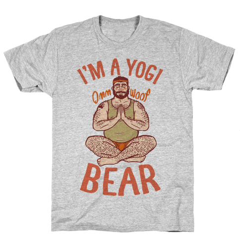 I'm A Yogi Bear Mens T-Shirt