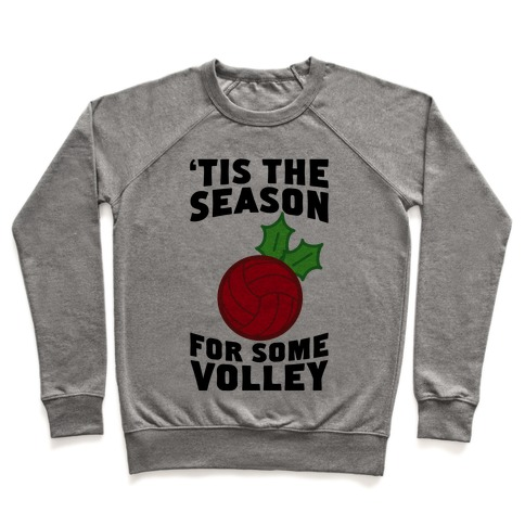 Tis The Season For Some Volley Pullover