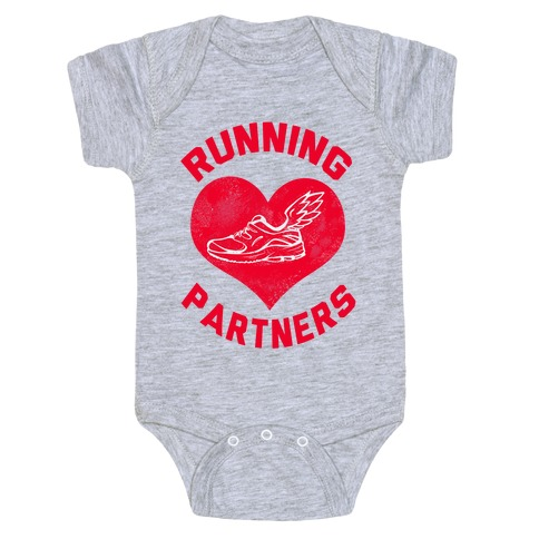 Running Partners Baby Onesy