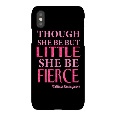 Little But Fierce Phone Case