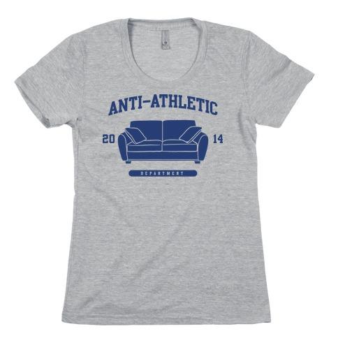 Anti Athletic Club Womens T-Shirt
