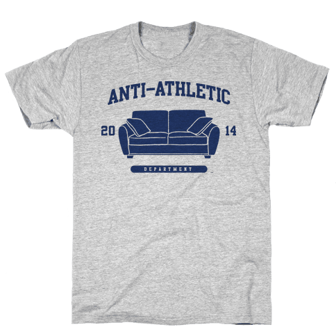 Anti Athletic Club Mens T-Shirt