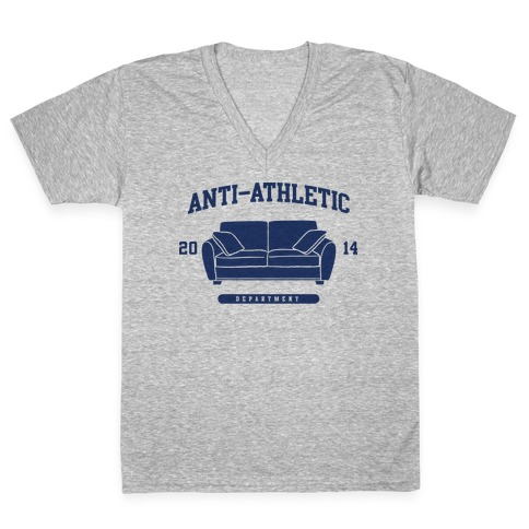 Anti Athletic Club V-Neck Tee Shirt