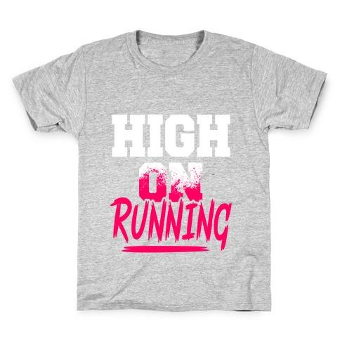 High On Running Kids T-Shirt