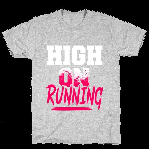 High On Running Mens T-Shirt
