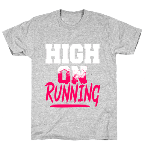 High On Running Mens T-Shirt