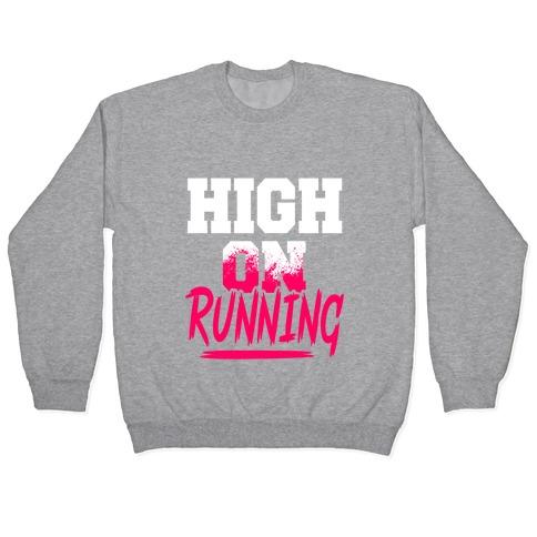 High On Running Pullover