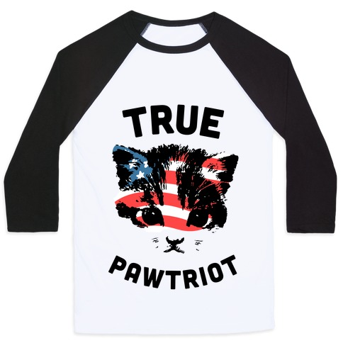 True Pawtriot Baseball Tee