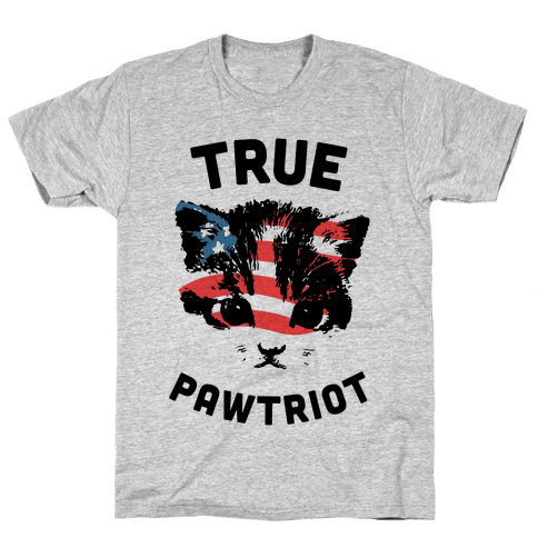 True Pawtriot Mens T-Shirt