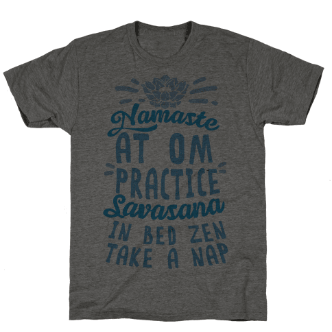 Namaste At Om Practice Savasana In Bed Zen Take A Nap