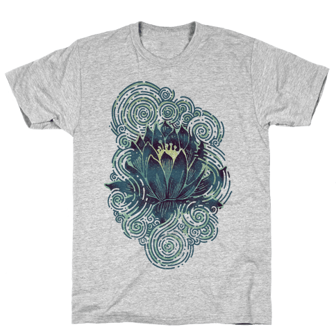 Lotus Flower Mens T-Shirt