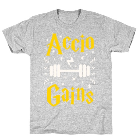 Accio Gains Mens T-Shirt
