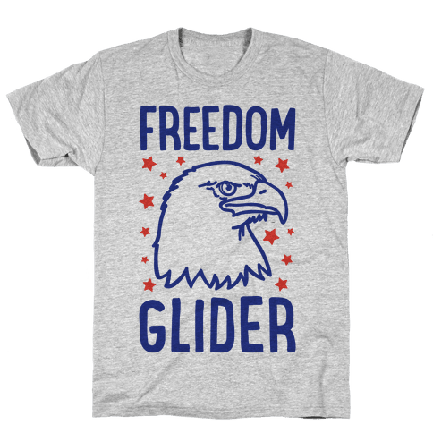 Freedom Glider Mens T-Shirt