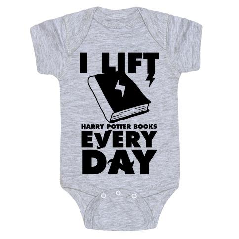 I Lift (Harry Potter Books) Every Day Baby Onesy