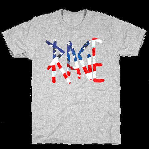 American Rage Mens T-Shirt